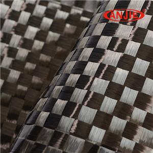 Carbon fiber spread tow fabric